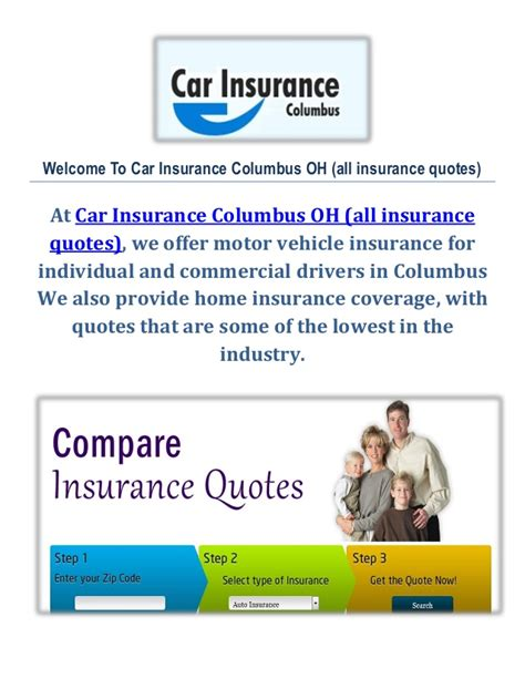All Car Insurance Quotes car insurance columbus oh all insurance quotes