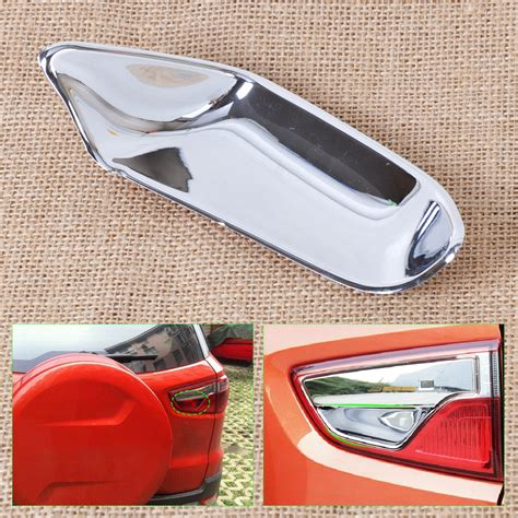 Cover Bumper Belakang Ford Eco Sport Chrome new chrome rear door handle cup bowl cover trim for ford ecosport 2013 2014 2015 ebay