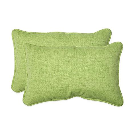 green throw pillows for bed baja lime green oblong throw pillows set of 2 bed bath