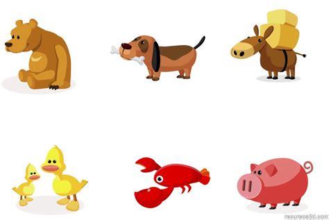 imagenes vectores de animales animales dibujados recurso educativo 50897 tiching
