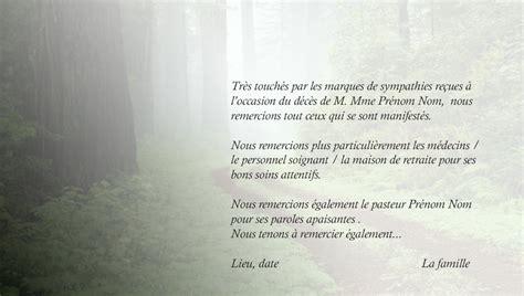 Exemple De Lettre De Remerciement Pour Un Deuil Top De Remerciement Deces Carte Deuil Faire Part Tattoos In Garden