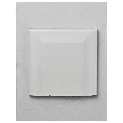merola tile park slope subway beveled glossy white ceramic wall tile 3 in x 4 in tile sle