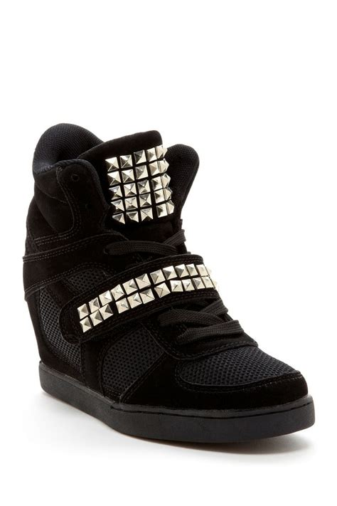 studded sneaker wedges 1000 images about wedge sneakers on ed hardy