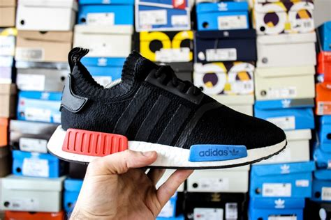 Nmd R1 Og Pk By Omg Sneakers adidas nmd r1 og pk black blue white sneakers s size 8