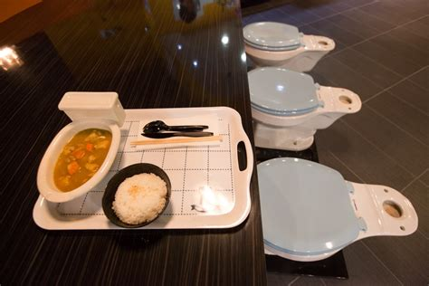 bathroom themed restaurant toilet themed restaurant unusual places