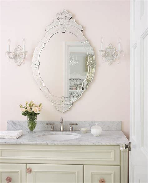cream oval metal vanity mirror shabby french chic home rosette mirror metal frame octagonal mirrors