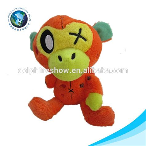 customized stuffed animal long arm and ears soft toy plush