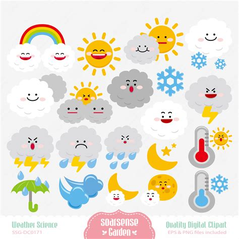Weather Clipart For Teachers – 101 Clip Art Free Clip Art Weather Pictures