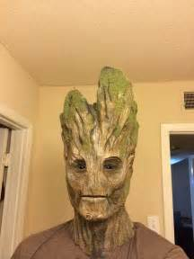 making groot from guardians of the galaxy make