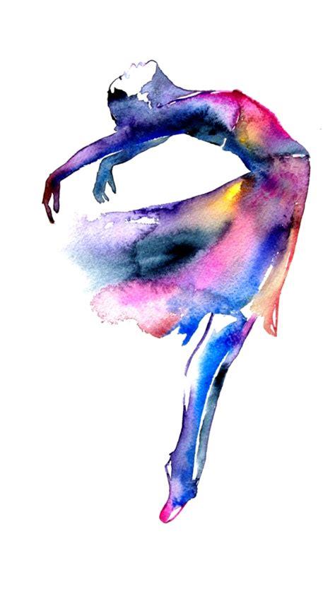 More Than Dance Watercolor Art Print   By Artollo