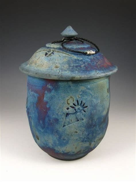 Handcrafted Cremation Urns - 77 best handcrafted raku style urns images on