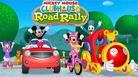 Mickey Mouse Clubhouse Road Rally by Mickey Mouse Clubhouse Road Rally Animation For