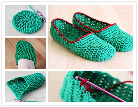 step by step crochet slippers how to crochet simple slippers step by step diy tutorial
