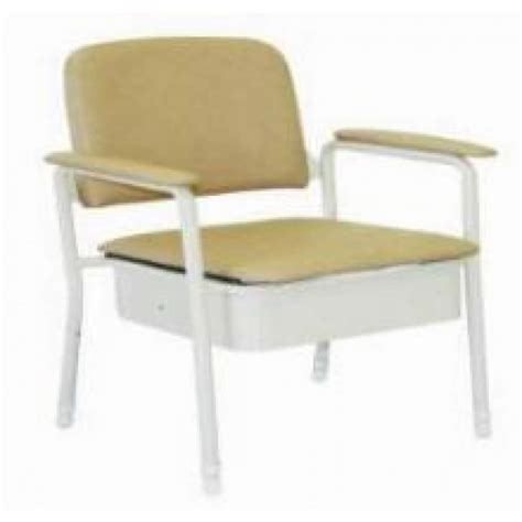 bedroom commode chair latest bedside commode deluxe 50cm wide seat only from