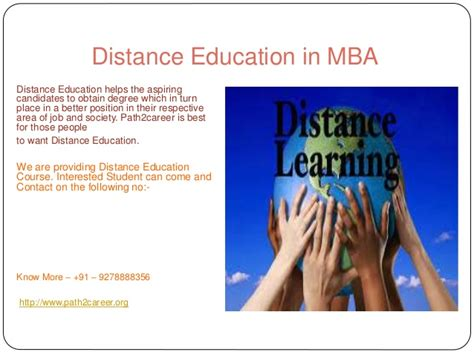Education Mba by Distance Education In Mba 8527271018