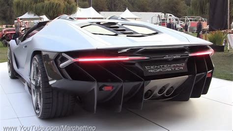 Car Types That Start With M by 2 3m Lamborghini Centenario Roadster Sound Start Ups