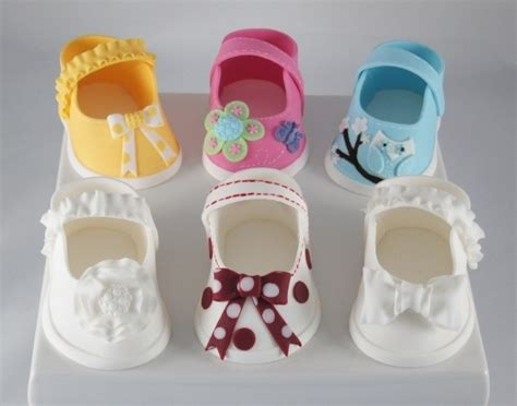 Cetakan Fondant Baby 3 Cavity baby shoes pattern for fondant