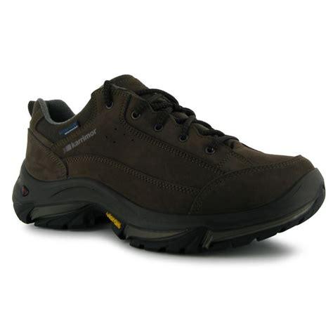 Karrimor Hiking karrimor mens brecon low walking hiking shoes trainers ebay