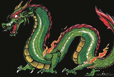 green dragon tattoo designs tattoos designs pictures page 12