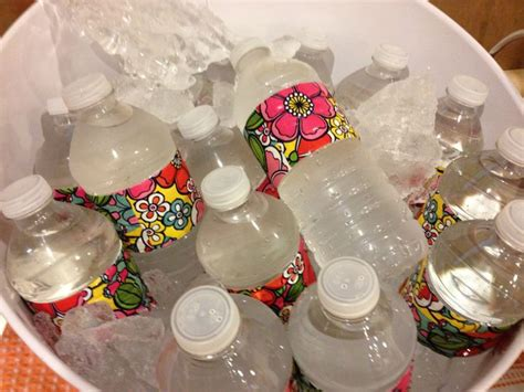 Water Bottle Decorating Ideas by