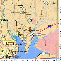 milton florida fl population data races housing
