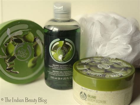 A Shop Shower Gel Scrub By Yesnow 2 the shop olive shower gel scrub and butter review the indian