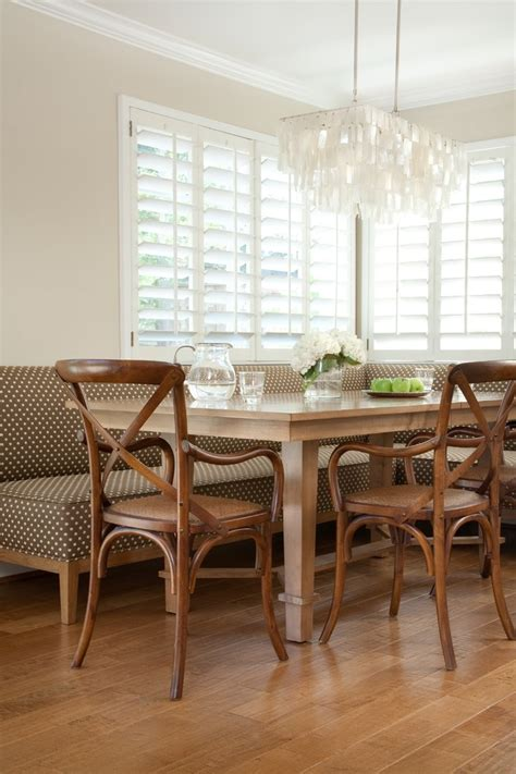 magnificent banquette san francisco contemporary dining room decorating ideas