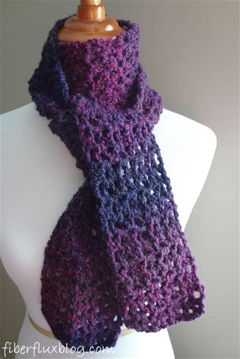 free and easy crochet scarf patterns crochet and knit