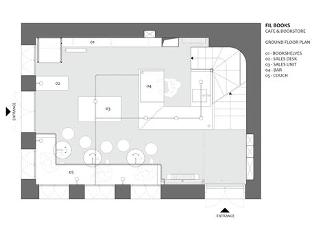 bookstore design floor plan gallery of fil books hal 252 kar architecture 12
