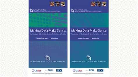 T4 Education Project Branding And Print Materials Ensemble Media Usaid Branding And Marking Template