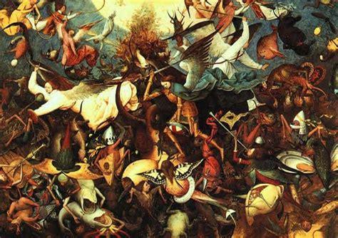 libro bosch and bruegel from 126 타락한 천사 a0 green