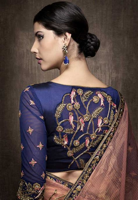 saree blouse designs hubpages wellness homes tattoo design bild 15 different embroidery blouse designs for back neck blouses