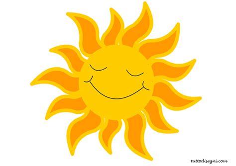 sole clipart sole sorridente tuttodisegni