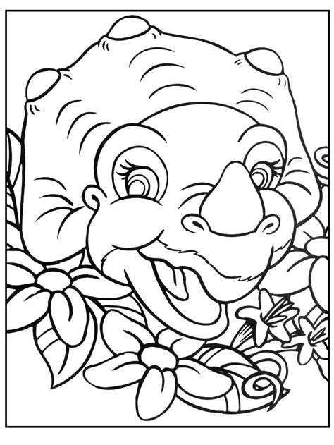 the land before time coloring pages coloring home