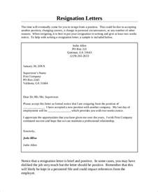 Friendly Letter Of Resignation by Resignation Letter 20 Free Word Pdf Documents Free Premium Templates