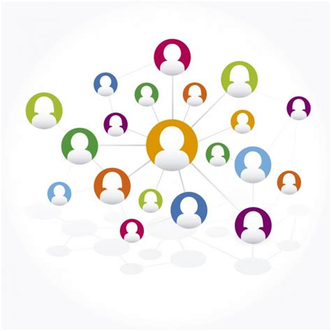 Search Social Networks For Free Social Network Connections Vector Free