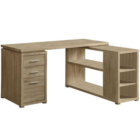 Wooden L Shaped Desk L Shaped Desk Reclaimed Wood In Desks And Hutches