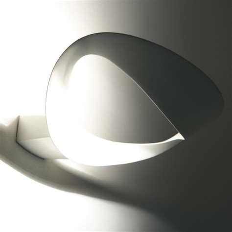 applique mesmeri mesmeri wall l white by artemide lovethesign
