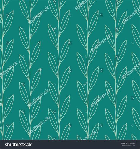 leaf pattern vector art leaf pattern vector seamless pattern floral stock vector
