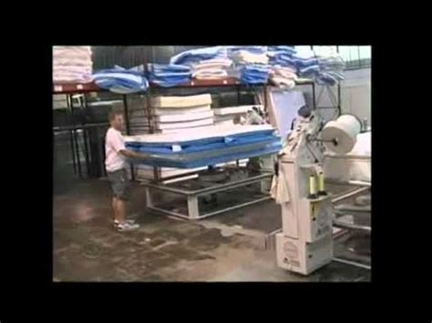 futon factory cleveland fw group mattress product demo manufacturing video doovi