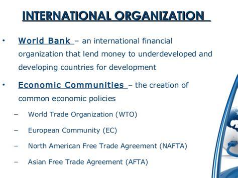 Why International Organization international business bba mba