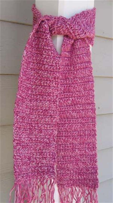 crochet pattern simple scarf simple crocheted scarf for teens diy craft ideas pinterest