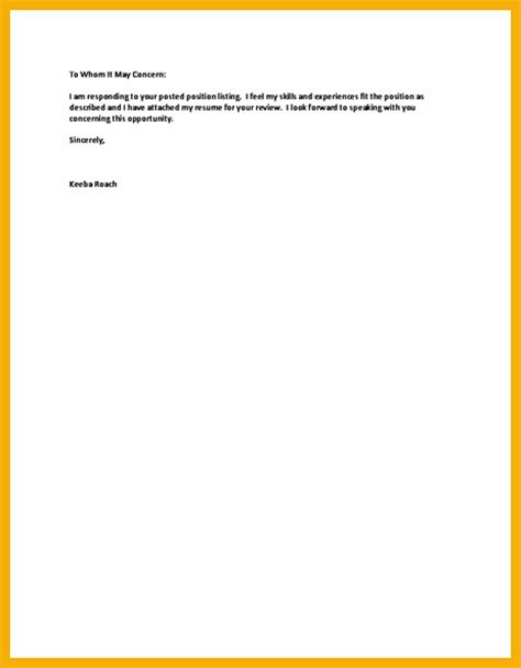 short cover letter best resumes