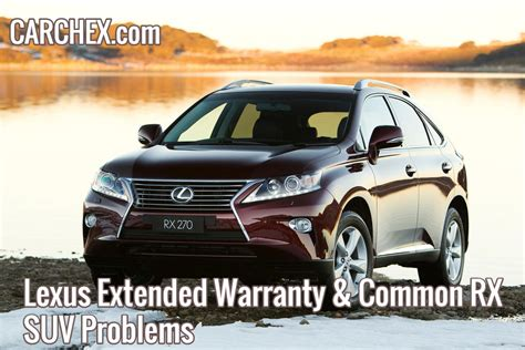 lexus extended warranty cost lexus extended warranty common rx suv problems