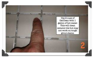 cleaning shower ceramic tile grout what works and what