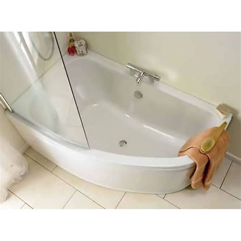 corner bath with shower screen 5 advantages of corner baths