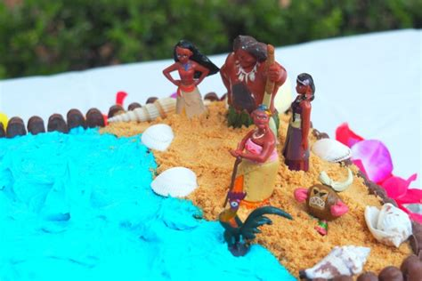Make A Moana  Ee  Birthday Ee   Cake