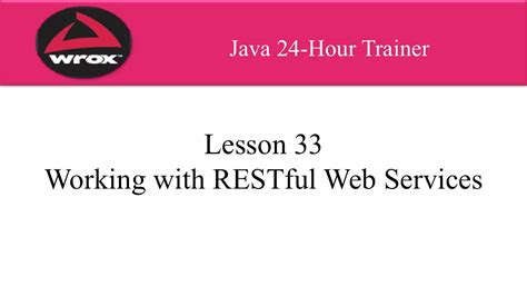 rest tutorial java youtube 7 wrox java rest web services tutorial overview youtube