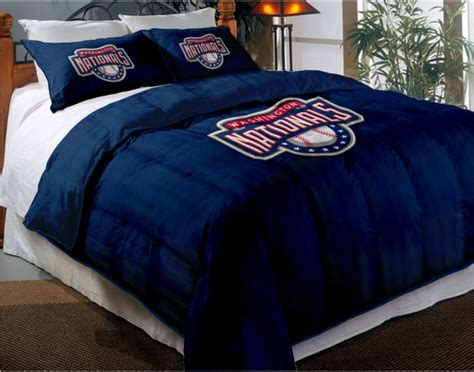 mlb bedding washington nationals mlb twin chenille embroidered