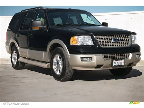 Expedition E6395 Gold Black 2005 black clearcoat ford expedition eddie bauer 100957128 gtcarlot car color galleries